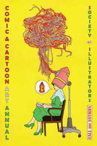 Cartoon and Comics Annual; art by Rutu Modan.